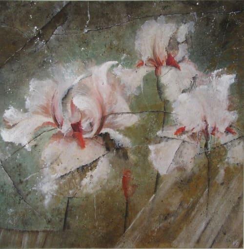 dame blanche artiste peintre décorateur paris 77