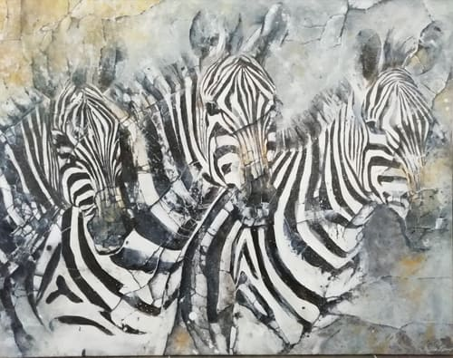 zèbres artiste peintre décorateur paris