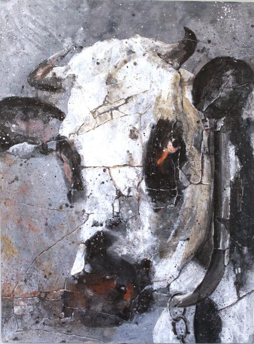 vache artiste peintre décorateur paris 77
