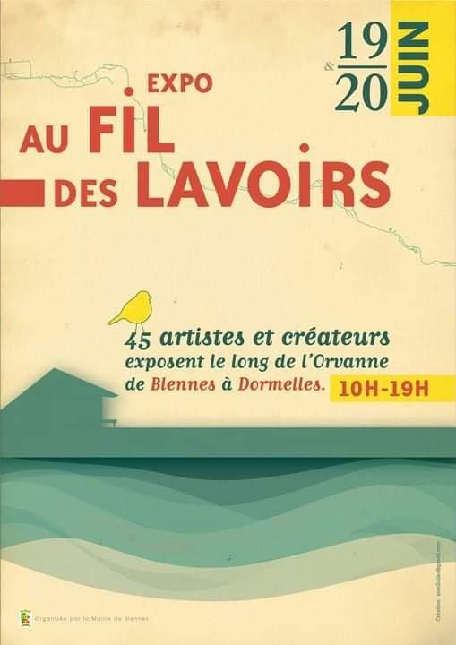 expo au fil des lavoirs - artiste peintre décorateur paris