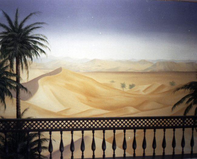 desert - trompe l'oeil décoratrice seine et marne paris