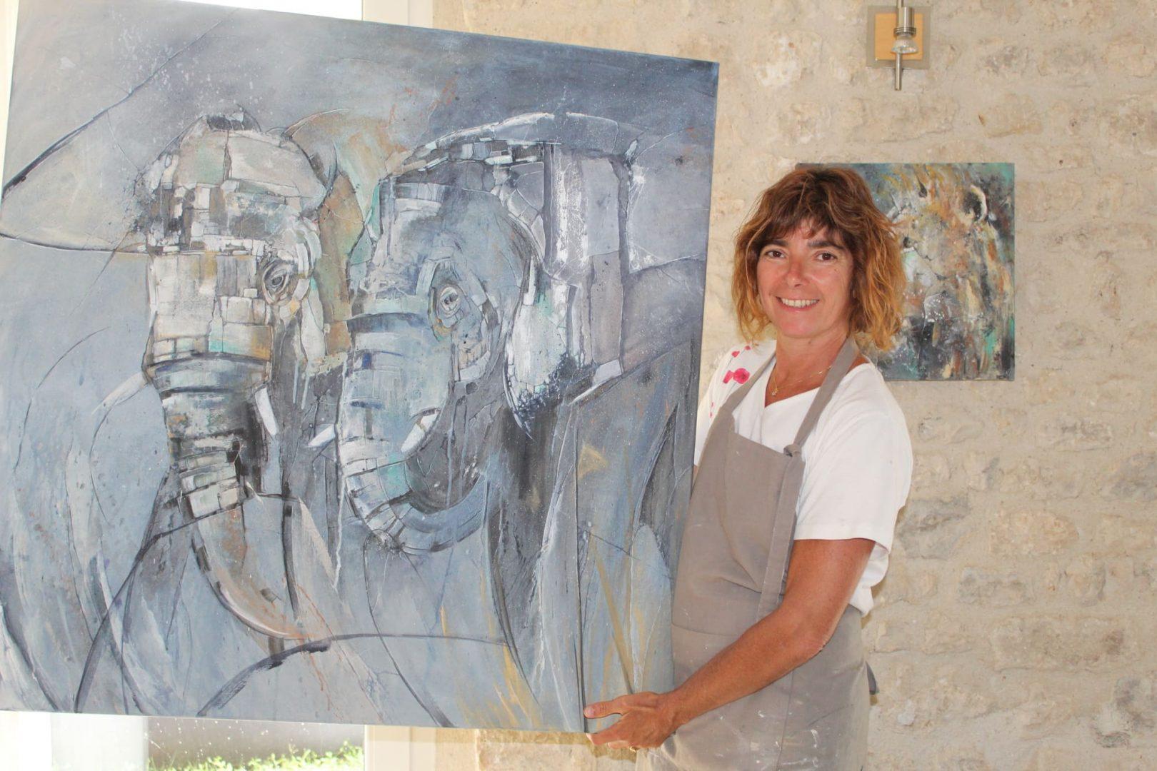 nadine artiste peintre décoratrice paris seine et marne