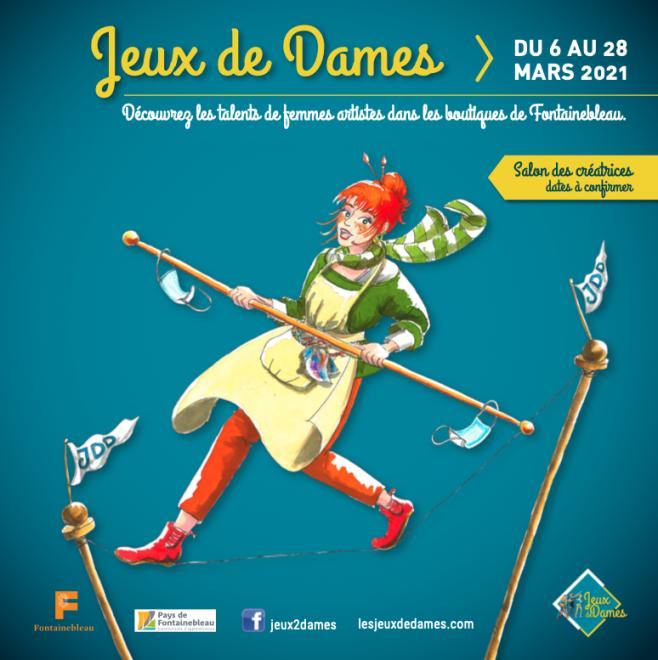 Jeux des Dames Fontainebleau